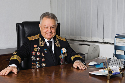 Academician of the Russian Academy of Sciences Ashot Sarkisov