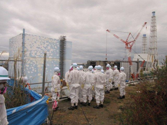 Institute News: Technical tour to the Fukushima Daiichi NPP on