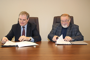 Alexander Bazhenov, Director General of FPFC, Vladimir Ponomarev, IBRAE Deputy Director on Strategic Development and Innovation, Chairman of the Board of TP ISIPE